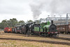 Unlikely Pairing (Henry's Railway Gallery) Tags: y112 y419 yclass a2986 a2class steamlocomotive victorianrailways vr steamrailvictoria srv