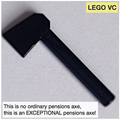 Exceptional pensions axe (followthethings.com) Tags: ucu uss strike pensions vivechancellor legovc uk universities project exceptional hyperbole buildings ordinary marksspencer advert parody lego afol axe