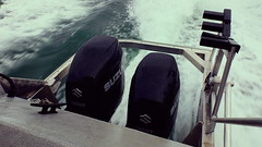 The 600 (bubbabottom56) Tags: 600 horse horsepower motors outboard outboards technicolor ocean waves wash