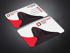 Creative-Business-Card-Red (MD SHUVO HOSSAIN) Tags: business card clean color colorful cool corporate creative divergent elegant minimal new personal print template professional proposal red shape studio stylish visiting