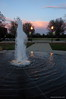evening lights (pvh photo) Tags: fountain lamps sunset smctakumar2045 clouds reflections