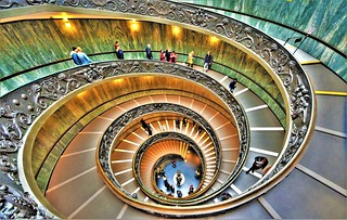 Happy Easter dear Friends - Vatican  staircase