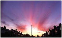 Sunrise - Birmingham UK (hussey411) Tags: sky street colours sun sunrise amateur amateurphotography amateurphotographer photographer photography photo iphonephotography iphone quinton birmingham westmidlands uk