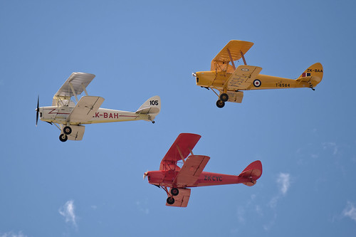 De Havilland Tiger Moths