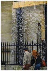Cascade des rues (afantelin) Tags: iledefrance paris eau passant grille conciergerie cascade stéphanethidet