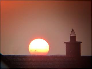 Ridgetile sunset
