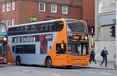 Unbranded 625 on Orange Line 35 (timothyr673) Tags: nottinghamcitytransport nct bus scania n230ud adl alexanderdennis dennis alexander nottingham orange e400 enviro400 orangeline yn14mup