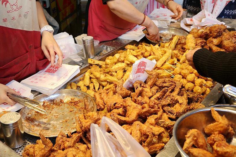 捷運永春東加炸雞-風味獨特的市場人氣炸雞攤07