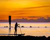 Paddle Home (BTAdelaide) Tags: paddle sunset seascape southaustralia sunlight adelaide australia ocean landscapephotography landscape seaside goldenhour beach beautiful beachlife