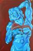 Schiavo Morente di Michelangelo - Artist: Leon 47 ( Leon XLVII ) (leon 47) Tags: abstract portrait painting triangulism art triangolismo enigma metafisica renaissance rinascimento schiavo morente michelangelo artist leon 47 xlvii di lodovico buonarroti modern pittura moderna rinascimentale from metaphysical metaphysics surrealism surrealismo arte astratta minimalism minimalismo individualismo individualism individuality umanismo humanism giorgio de chirico arnold böcklin arthur schopenhauer friedrich nietzsche artwork sell by buy original