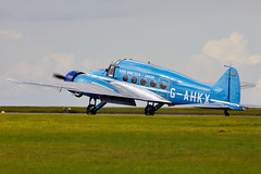 Anson (Bernie Condon) Tags: scampton rafstation military aribase base station airshow 2017 flying display aircraft plane uk lincs royalairforce raf avro anson trainer passenger airliner transport civil vintage preserved classic aviation