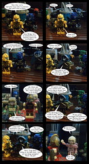 Tales from Cybertron 85 (Lazy Ass Artisan) Tags: ultra magnus arcee springer groundbreaker kup elitaone elita chromia blurr autobots transformers kreo lego iacon cybertron