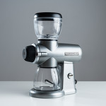 Grinding coffee for brewing french press, pour over, drip, espresso thumbnail