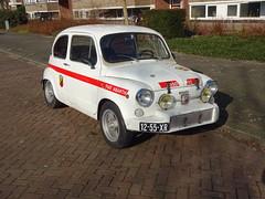 1973 Fiat 600 L (Abarth 850 TC replica) (Skitmeister) Tags: carspot netherlands nederland skitmeister 1255xr