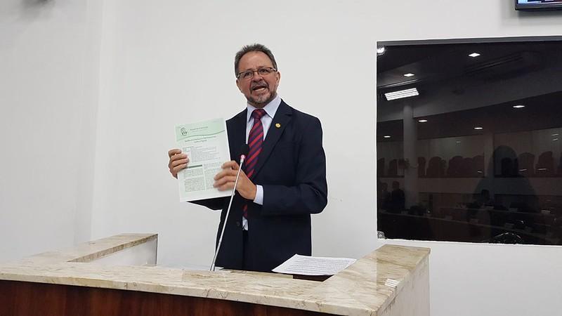 Vereador Acrísio Sena (PT)