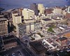Municipal Building and surrounding area, 1967 (Seattle Municipal Archives) Tags: seattlemunicipalarchives seattle cityhalls seattlecityhall 1960s downtownseattle aerials