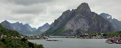 Reine - Lofoten (yorkiemimi (away for a while)) Tags: norway lofoten reine norwegen naure natur landschaft landscape scenery mountains berge meer sea water sky