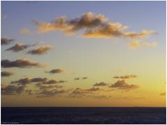 Caribbean sunset (Luc V. de Zeeuw) Tags: caribbeansunset clouds seaocean sunset water central stjohn usvirginislands