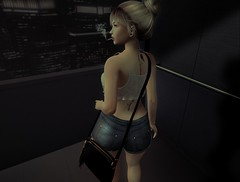 † 992 † (BillitaUnderZone) Tags: blueberry blackswan prtty rm girl elevator sl secondlife post blogger virtual newreleases tattoo maitreya catwa