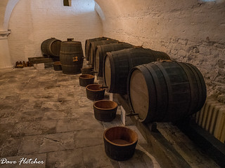 The Wine Cellar Uppark House West Sussex
