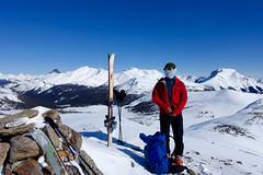 Healy Pass Peak (*Andrea B) Tags: healy pass peak 2018 march2018 healypasspeak ski skis touring skitouring march winter banff national park banffnationalpark healypass snow backcountry