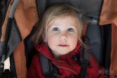 Josephine (Light&LovePhotography) Tags: hair blond nose skin closeup portrait beautiful pretty innocent reflection stroller orange red cheeks