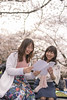 Happy female friends reading book under cherry blossom (Apricot Cafe) Tags: img84793 asia asianandindianethnicities healthylifestyle japan japaneseethnicity japaneseculture shibuyaward tamronsp35mmf18divcusdmodelf012 tokyojapan yoyogiparktooghysmile afternoon book bright candid carefree casualclothing charming cheerful cherryblossom cherryblossomshanami churryblossom colorimage copyspace day enjoyment flower friendship fulllength happiness hopeconcept leisureactivity lifestyles nature newlife onlywomen outdoors people photography picincblanket picnic publicpark reading sitting smiling springtime success sustainablelifestyle togerness togetherness twopeople weekendactivities women youngadult shibuya tokyo jp