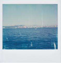 2018-04-03-Uskudar (mynewtonlives) Tags: polaroid polaroidspectra impossibleproject colour istanbulbosporus istanbul kabatas dolmabahçe findikli fishingboats
