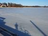 2018 Bike 180: Day 74, April 6 (olmofin) Tags: 2018bike180 finland bicycle polkupyörä shadow varjo ice jää sea meri keilalahti keilaniemi
