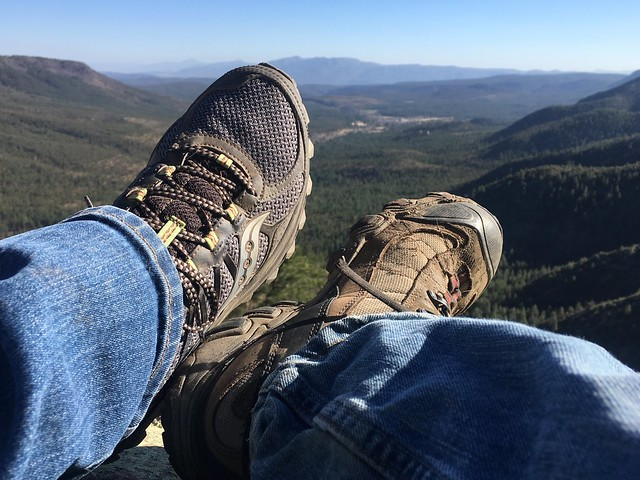 Feet Over the Mogollon Rim