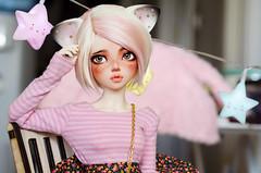 <Kitty> (✄Frappzilla) Tags: minifee mnf chloe bjd doll abjd