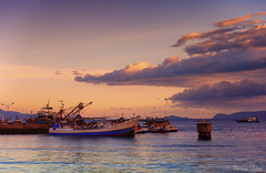 Asia (Sumarie Slabber) Tags: boats ships sea water skies clouds sunsetseascape asia sumarieslabber ocean