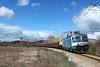Train 30691 (Krali Mirko) Tags: bdz tp cargo freight train electric locomotive electroputere ea060 46037 sarantsi bulgaria railway transport skyline бдж влак локомотив саранци българия железница