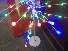 462 (en-ri) Tags: lucine rosso blu verde natale christmas addobbi sony sonysti