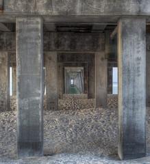 View of the Guf (LanaScape Photos) Tags: gulfofmexico alabama pier concrete