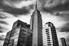 Empire State Building (andrewhardyphotos) Tags: bw blackwhite empirestatebuilding manhattan monochrome nyc newyorkcity nikond7200 sigma1750mmf28exdcoshsm