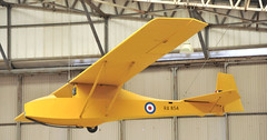 Slingsby T-7 Cadet TX1 RA854 (M McBey) Tags: slingsby cadet aircadet glider yellow raf yorkshireairmuseum