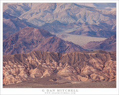 Desert Mountains (G Dan Mitchell) Tags: deathvalley national park grapevine amargosa range mountains kitfox hills evening wash fan landscape desert erosion california usa north america
