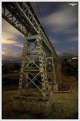 Fantasma del Quisi (lagunadani) Tags: viaducto puente bridge nocturna paisaje benissa trenet trenetdelamarina fgv narrowgauge ferrocarril