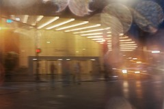 Radial (michael.veltman) Tags: from the cab in rain wacker drive chicago illinois