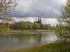Steyl - Missiehuis St. Michaël (grotevriendelijkereus) Tags: limburg netherlands holland nederland steyl river rivier maas stream water kerk church abbey abdij convent klooster neogothic neogotiek gothic revival