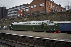 Class 40s@60 (DM47744) Tags: class 40 d200 40122 elr east lancashire railway bury bolton street train trains traction locomotive english electric br green disc headcode transport track travel loco preserved preservation national museum nrm transportation