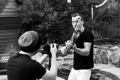BTS - James Mahler (Ms Becca Photography) Tags: mark wilson james mahler scenes bw behind