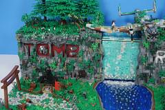 Tomb Raider: (TheBrickNinja) Tags: lego tomb raider laura croft movie video game playstation world war plane tank adventure river waterfall trees eviroment