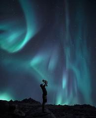 Natural wonders (Jay Daley) Tags: northernlights longexposure nightphotography norway auroraborealis aurora