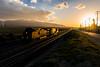 BNSF 5234 Dash9-44CW (cadet_wilson) Tags: bnsf railway tehachapi pass baretable train 5234 dash9 dash944cw ge locomotive engine monolith cement plant mojave sub setting sun sunset sunlight silhouette