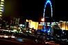 High Roller (EmperorNorton47) Tags: lasvegas nevada photo digital winter night ferriswheel bigwheel parkinglot neon