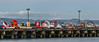 parade pier (pbo31) Tags: bayarea california nikon d810 color march 2018 boury pbo31 winter sanfrancisco city urban blue art sculpture parade pier newyears chinese missionbay bay float yearofthedog panorama large panoramic stitched