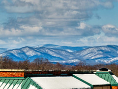 snow-dusted Blue Ridge Mountains (Retronaut) Tags: hdr