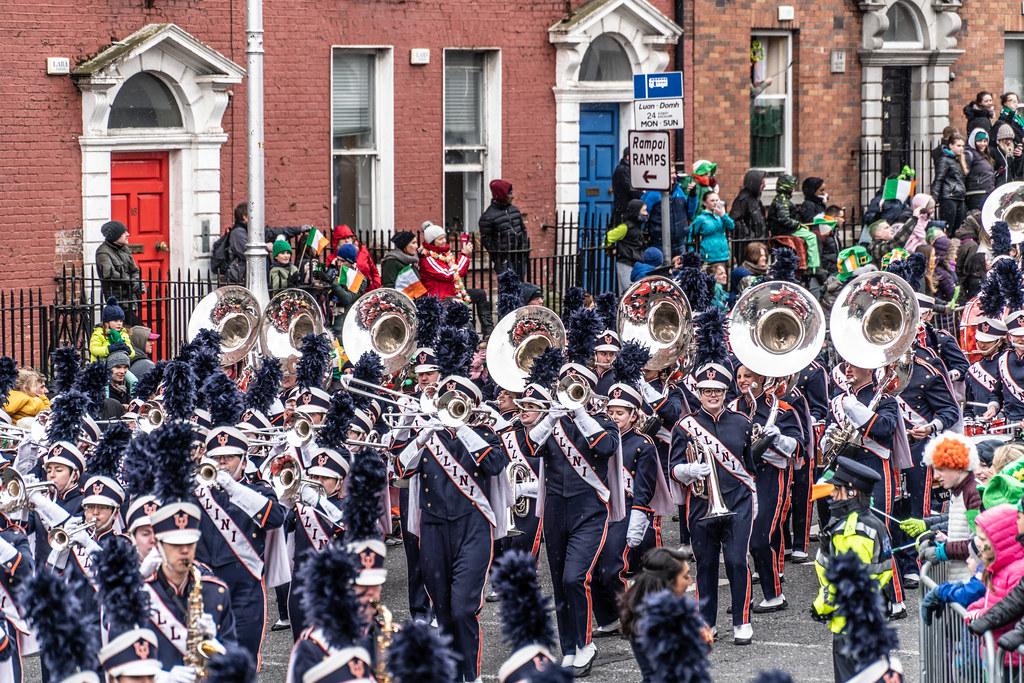 DUBLIN SAINT PATRICKS PARADE 2018 [THE MARCHING ILLINI]-137400